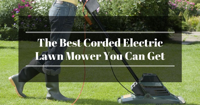 Best Corded Electric Lawn Mower Coca Crop