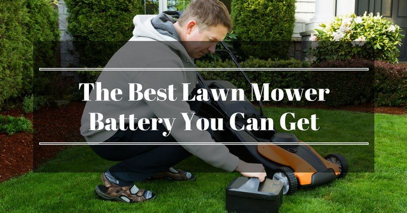best-lawn-mower-battery