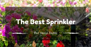 The Best Sprinkler For Small Yards