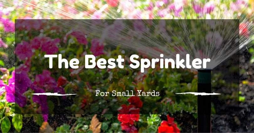 best-sprinkler-for-small-yards