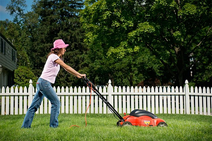 best corded electric lawn mower reviews