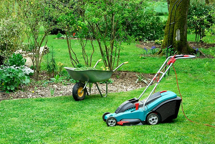 best corded electric lawn mower 2020