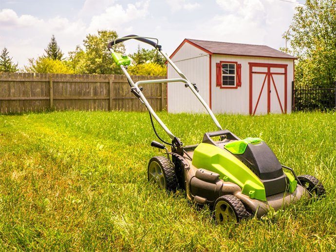 best battery powered lawn mower 2020