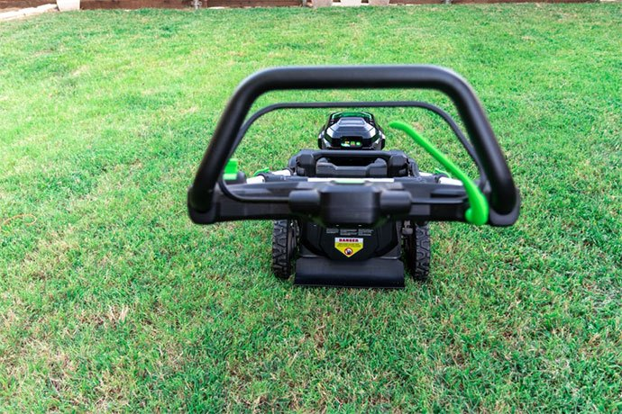 best battery powered lawn mower consumer reports